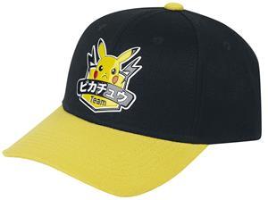 Pokémon - Pikachu - Hero - Lippis - Unisex - Musta keltainen