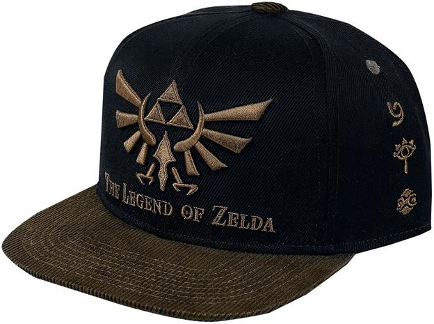 The Legend Of Zelda - Hyrule - Lippis - Miehet - Musta ruskea