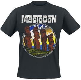 Mastodon - Easter Statues - T-paita - Miehet - Musta
