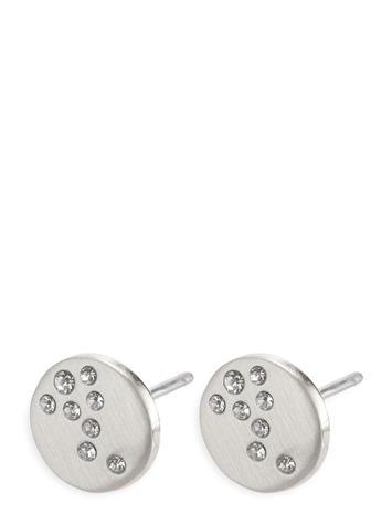 Pilgrim Intuition Accessories Jewellery Earrings Studs Hopea Pilgrim SILVER PLATED