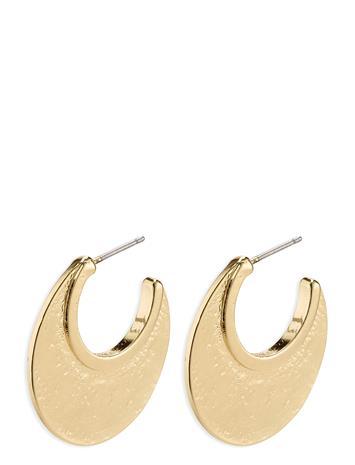 Pilgrim Empathy Accessories Jewellery Earrings Hoops Kulta Pilgrim GOLD PLATED