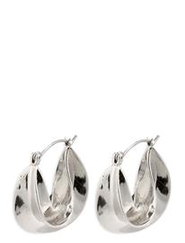 Pilgrim Intuition Accessories Jewellery Earrings Hoops Hopea Pilgrim SILVER PLATED