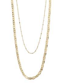 Pilgrim Intuition Accessories Jewellery Necklaces Statement Necklaces Kulta Pilgrim GOLD PLATED