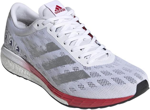 adidas Adizero Boston 9 BS Shoes Men, footwear white/silver metal
