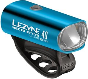 Lezyne Hecto Drive 40 Front Lighting StVZO Y11, blue/glossy/white