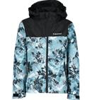 Everest J ALR SHELL JKT MINT FLOWER PRINT