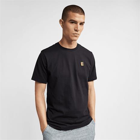Nike M NKCT COURT EMBR TEE BLACK