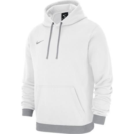 Nike J FIN HOODIE PO FLC TM CLUB19 # 1 WHITE/BLUE