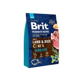 Brit Premium by Nature Sensitive lammas herkkävatsaisille aikuisille koirille 3 kg