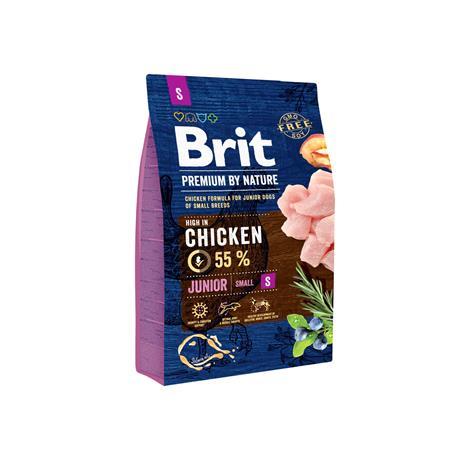 Brit Premium by Nature Junior S pienten rotujen pennuille 3 kg