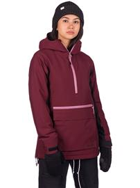 Coal Olympus Jacket port / anthracite / orchid Naiset