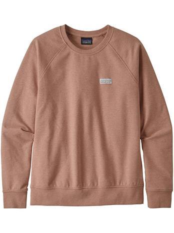 Patagonia Pastel P-6 Label Ahnya Crew Sweater scotch pink Naiset