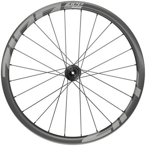 "Zipp 202 Firecrest Rear Wheel 28"""" 12x142mm Disc CL Tubeless Shimano, black"