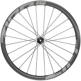 "Zipp 202 Firecrest Front Wheel 28"""" 12x100mm Disc CL Tubeless, black"