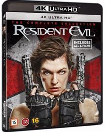 Resident Evil 1-6 Movie Collection (4K UHD + Blu-Ray). elokuva