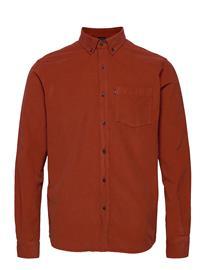 Lexington Clothing August Cord Shirt Paita Rento Casual Oranssi Lexington Clothing ORANGE