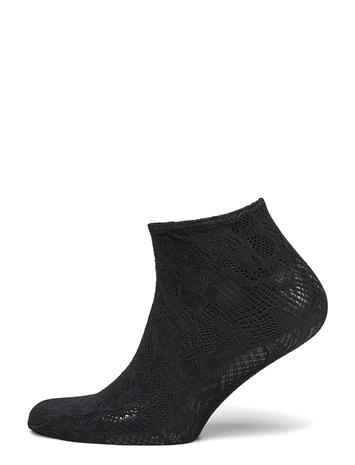 Wolford Morgan Socks Varrettomat Sukat Urheilusukat/Ankle Socks Musta Wolford BLACK