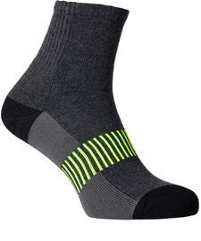 Salming Wool Sock 2.0, dark grey/melange, Miesten housut ja muut alaosat
