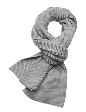 Tommy Hilfiger Essential Knit Scarf Huivi Harmaa Tommy Hilfiger MID GREY HEATHER