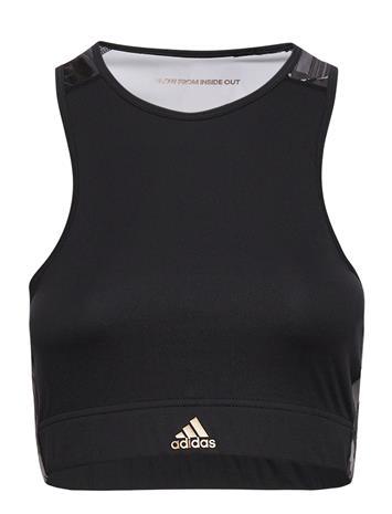 adidas Performance W U-B-U B Top Lingerie Bras & Tops Sports Bras - ALL Musta Adidas Performance BLACK/COPPMT