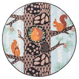 Vallila Kurrepuu -matto, monivärinen, ä˜ 133 cm