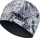 Nike Swim Doodle Silicon Cap Kids, black