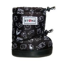 Stonz Booties Print Black Plus Töppöset XL, Lasten kengät