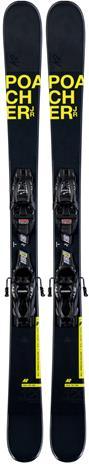 K2 Poacher JR Laskettelusukset - Siteet 7.0, Musta