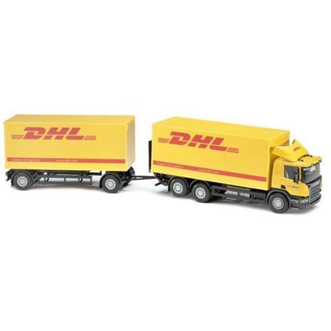 Emek Scania DHL Jakelurekka Perävaunulla