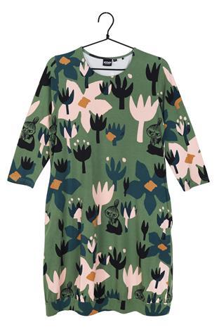 Muumi Sivi naisten mekko