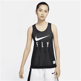 Nike W NK FLY REVERSIBLE JERSEY BLACK/WHITE