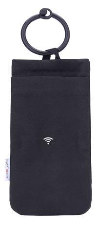 RADICOVER Kännykän Säteilysuoja, Small Musta