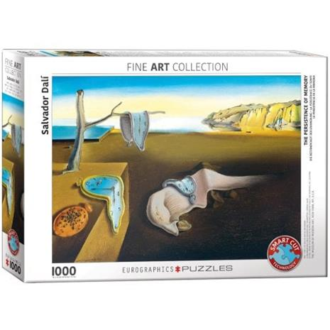 Salvador Dali, The Persistance of Memory, Palapeli, 1000 palaa, Eurographics