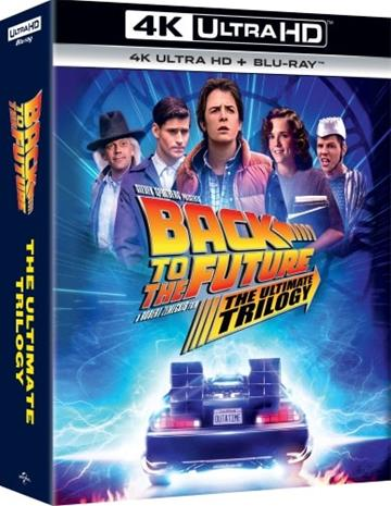 Back to the Future: The Ultimate Trilogy (4K Ultra HD + Blu-ray), elokuva