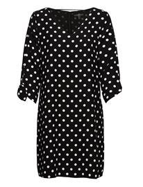 Esprit Collection Dresses Light Woven Polvipituinen Mekko Musta Esprit Collection BLACK 3