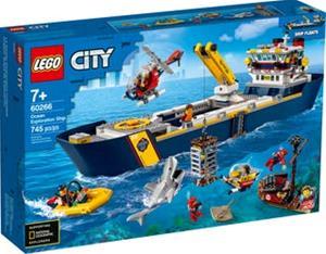 Lego City 60266, Valtameren tutkimuslaiva (Ocean Exploration Ship)