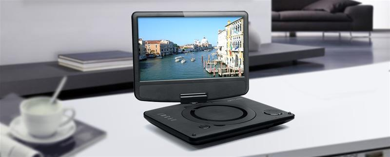 Muse M-970DP, kannettava DVD-soitin