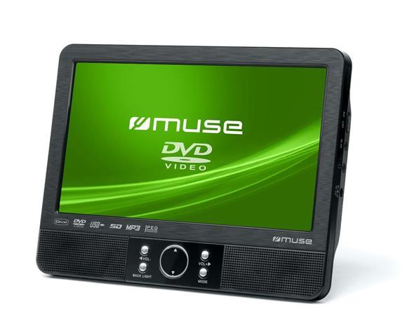 Muse M-990CVB, kannettava DVD-soitin