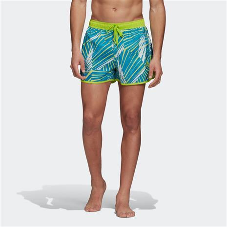 adidas Graphic Split CLX Swim Shorts