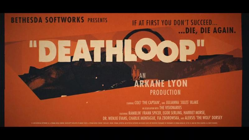 Deathloop, PS5 -peli