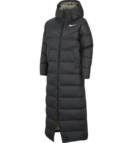 Nike W STMT DWN PARKA BLACK/MYSTIC STONE