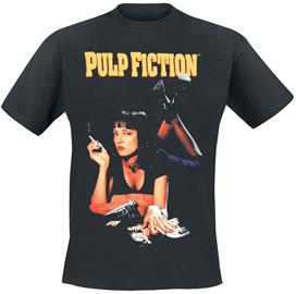 Pulp Fiction - Quentin Tarantino - Pulp Fiction- Poster - T-paita - Miehet - Musta