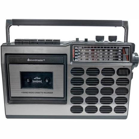 Soundmaster Retro radio, kasettisoitin radio