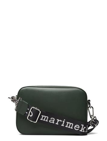 Marimekko Gratha Bag Bags Small Shoulder Bags - Crossbody Bags Vihreä Marimekko DARK GREEN