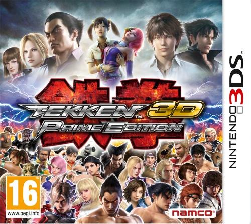 Tekken 3D - Prime Edition, Nintendo 3DS -peli