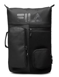 FILA Backpack Frosted Pu-3d Mesh Reppu Laukku Musta FILA BLACK