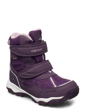 Viking Beito Gtx Bootsit Nauhalliset Saapikkaat Liila Viking PURPLE