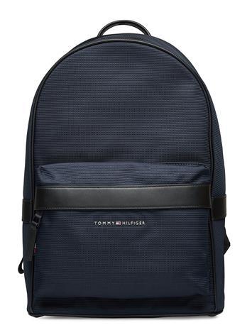Tommy Hilfiger Elevated Nylon Backpack Reppu Laukku Sininen Tommy Hilfiger DESERT SKY