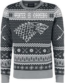 Game Of Thrones - Winter Is Coming - Jouluneule - Miehet - Harmaa