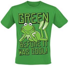 Muppetit - Kermit - Green Before It Was Cool! - T-paita - Miehet - Vihreä